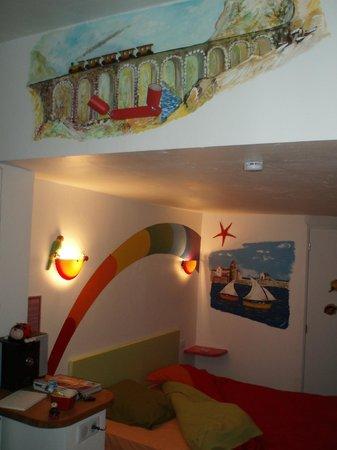 Chambres d'hotes Arcenciel: le moindre espace est décoré