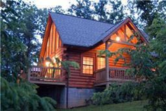 มอนทีเกิล, เทนเนสซี: Cozy cabin with amazing view and hot tub under the stars - Monteagle, Tn.