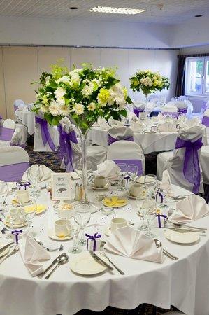 Chichester Park Hotel: wedding breakfast