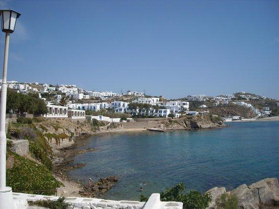 Mykonos Essence Hotel: vista
