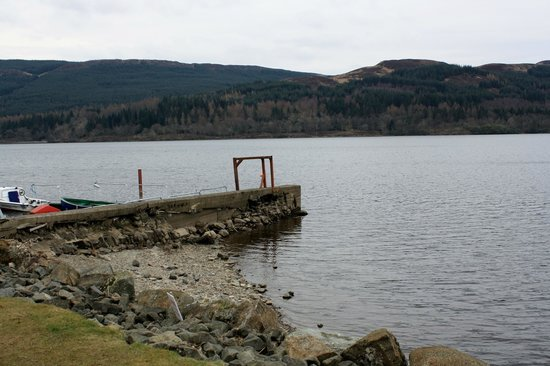 Venachar Lochside: The Jetty at the Harbour Cafe