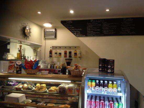 Caffe Juliano's interior