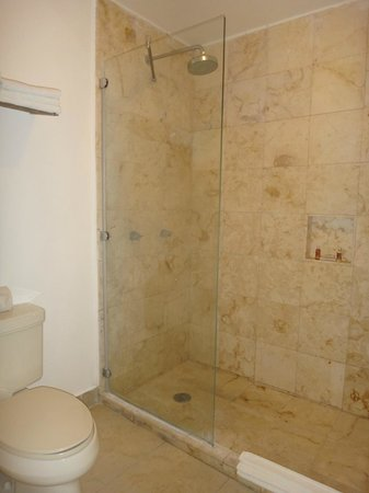 Hotel Casa Ticul: shower