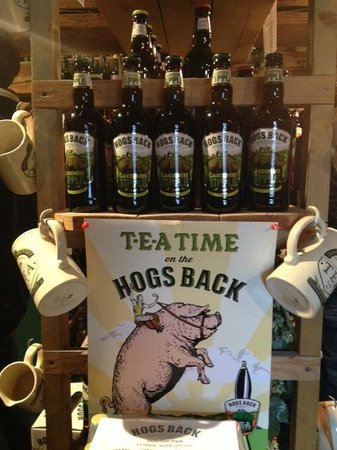 Hogs Back Brewery: Lots In The Gift Shop!