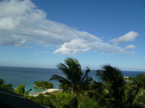 Alargo Villa Residence: View from third floor balcony - those are private beaches