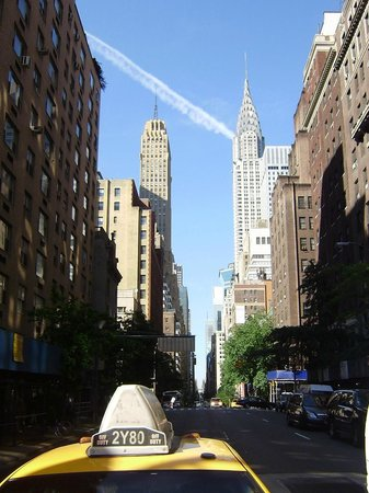 Shelburne NYC–an Affinia hotel: the view outside the hotel