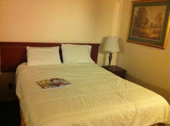 Travelodge Big Bear Lake CA: cama de habitacion