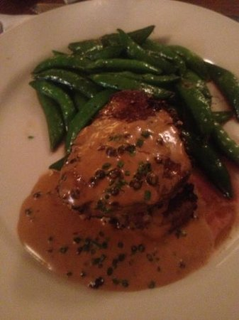 Michael's Uptown Cafe: pepper medallions
