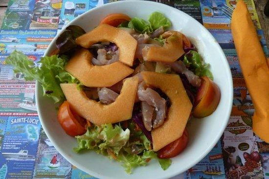 Paille Coco : bonne salade