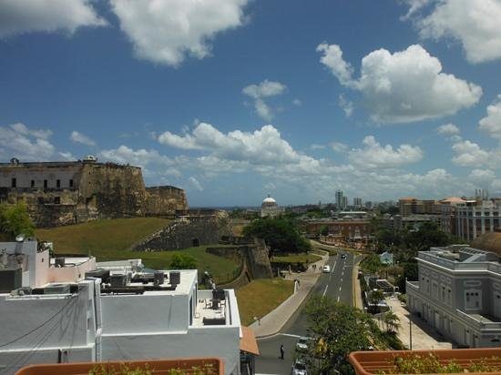 Posada San Francisco Old San Juan: view from balcony
