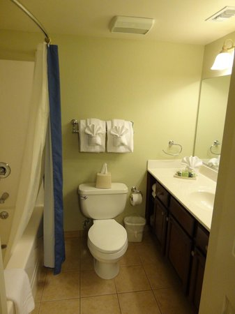 Bluegreen Vacations Patrick Henry Sqr, Ascend Resort Collection : main bath for suite