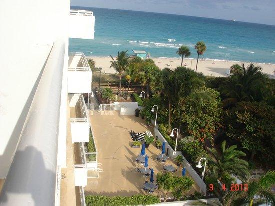 BEST WESTERN Atlantic Beach Resort: Vista da sacada do apto