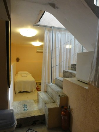 Peer Guest House: view from the kitchenette area