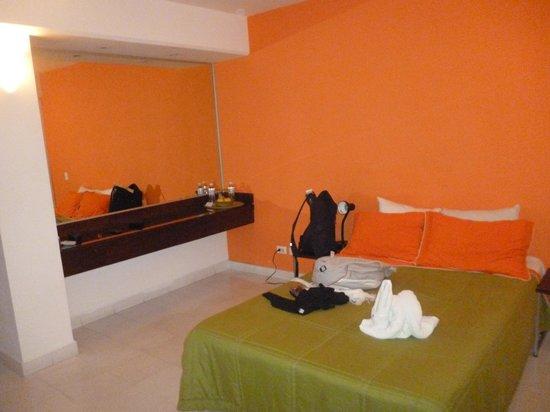 Hostel Mundo Joven Cancun: doble con baño privado