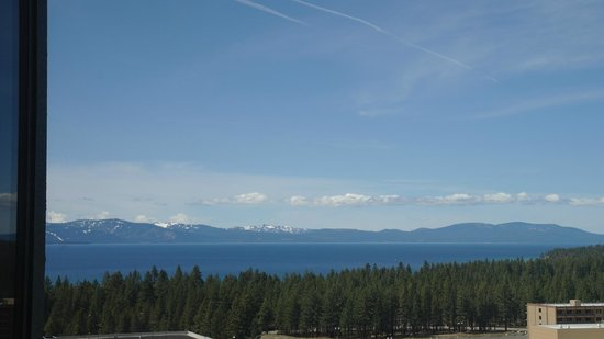 Harrah's Lake Tahoe: View from our room (left)