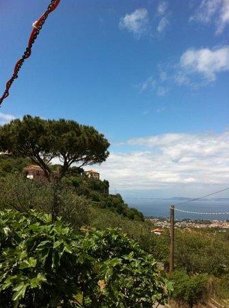 Ristorante Zio Sam: panorama dalla terrazza...