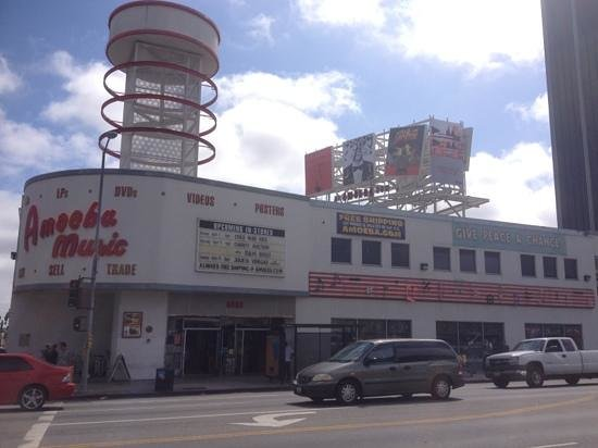 The Redbury Hollywood: amoeba music