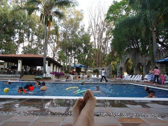 Mision San Gil: Alberca del hotel