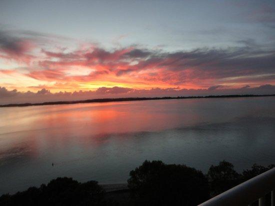 Sunrise at Gemini Resort