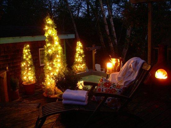 Salmonberry Inn & Beach House: Night at Salmonberry