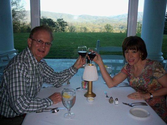كريستوفر بليس: Dinner with a view