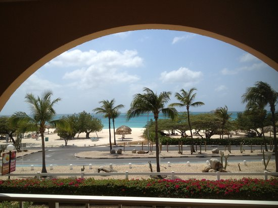 La Cabana Beach Resort & Casino : View from our balcony