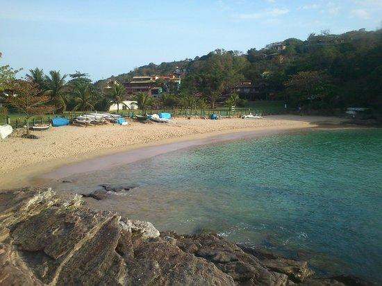 Bon Bini Pousada: playa cercana