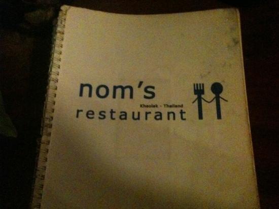 Nom's Family Restaurant : noms