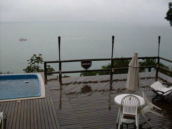 The Goldeneye Pousada: Vista para o mar