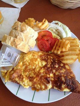 El Jardin: omelette