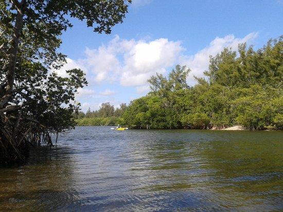 Round Island Beach Park Kayaking View