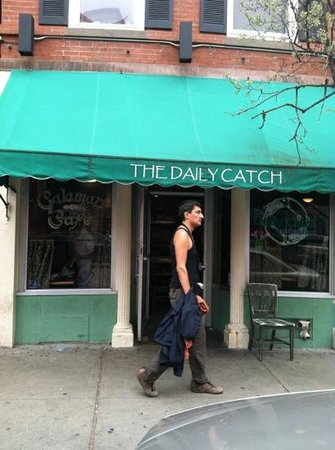 The Daily Catch: this is the front