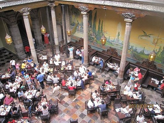 Pajarera en sanborns divisi n del norte mexico df for Sanborns azulejos restaurante