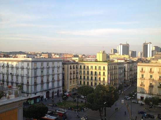 Hotel Garden Napoli: vista