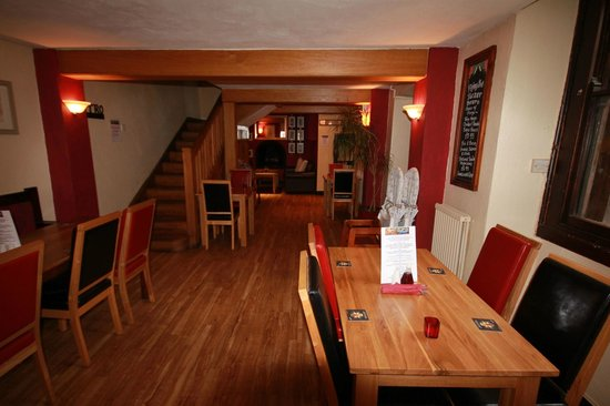 The City Arms: dining area