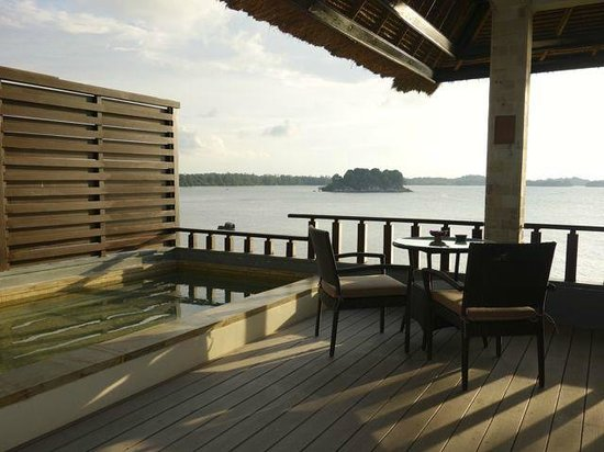 Banyan Tree Bintan: Rocks Villa - a private aspect out onto the ocean