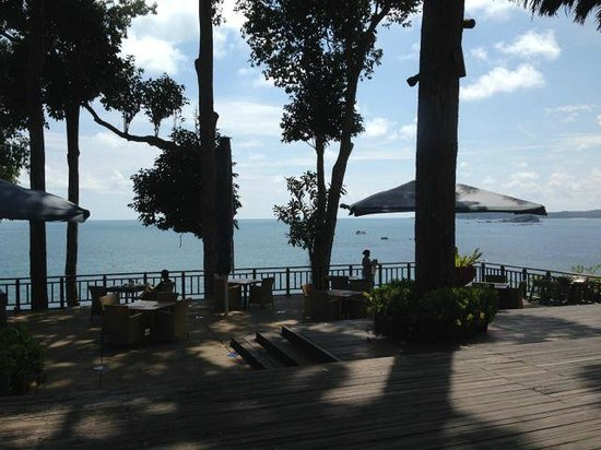Banyan Tree Bintan: Outdoor dining at Treetops