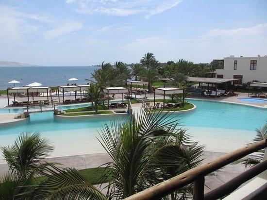 La Hacienda Bahia Paracas: View from our room
