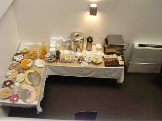 RQ Santiago: Mesa do café da manhã