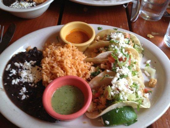 Patron Mexican Grill : Chicken Tacos