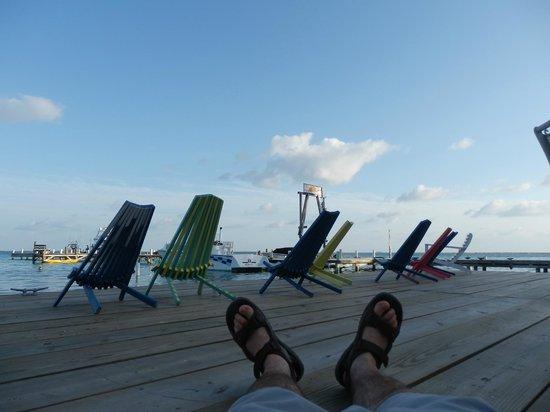Blue Marlin Beach Resort: the pier