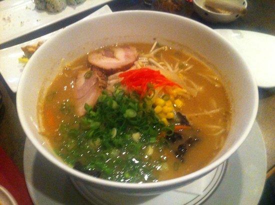 Shikiji: Miso Ramen Soup with pork