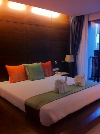 Aree Tara Resort: pool view room