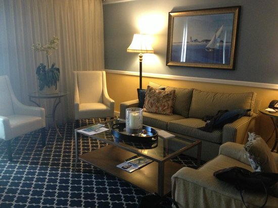 The Portofino Hotel & Marina, A Noble House Hotel: Ocean suite