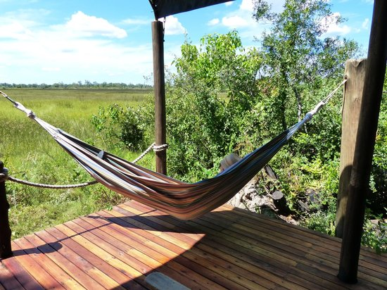Hammock on our balcony picture of sanctuary stanley 39 s for Balcony hammock