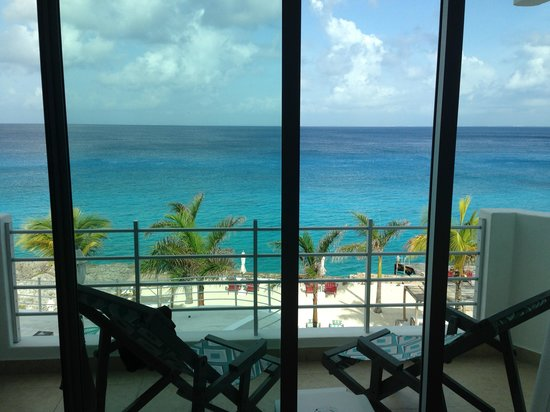 Hotel B Cozumel: View from balcony
