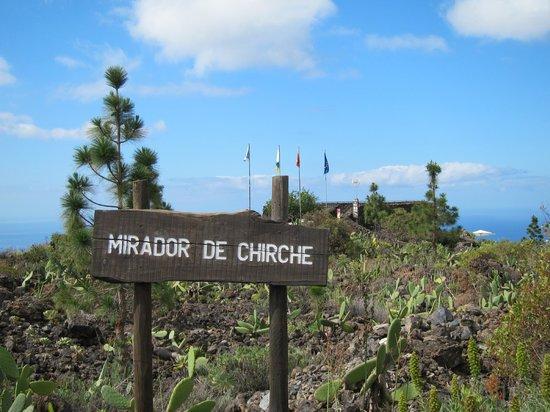 Ténérife, Espagne : Mirador de Chirche
