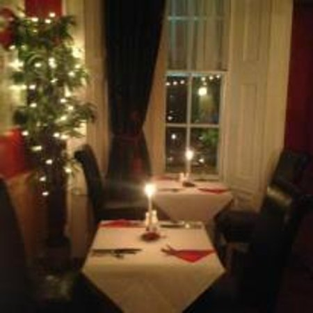 Sheehan's : Our lovely intimate dining experience, looking down of the beautifully scenic quay.