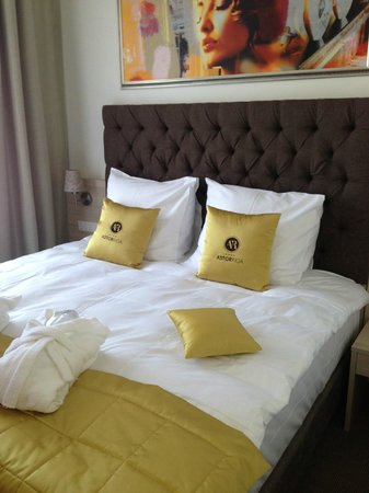 Astor Riga Hotel & Conference: Comfy Bed