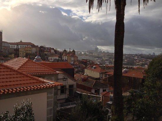Vitoria Village: Panorama dalla sala colazione